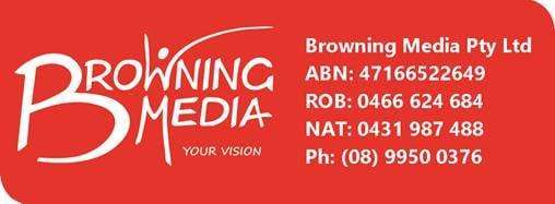 Browning media Logo.