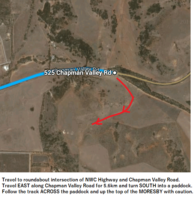 Map to Max Smith Memorial Run