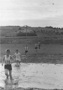 1970 Under 13 2 mile Club Championship Phillip Wright leads